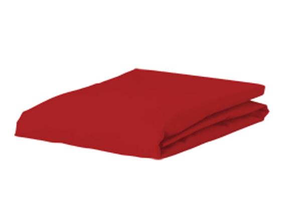 Bella Donna Jersey hoeslaken, rood