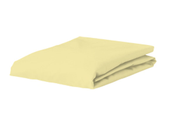 Bella Donna Jersey hoeslaken, zacht geel
