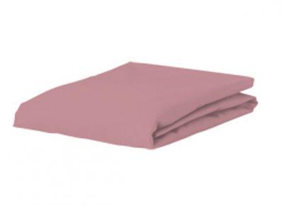 Bella Donna Jersey hoeslaken, oud roze