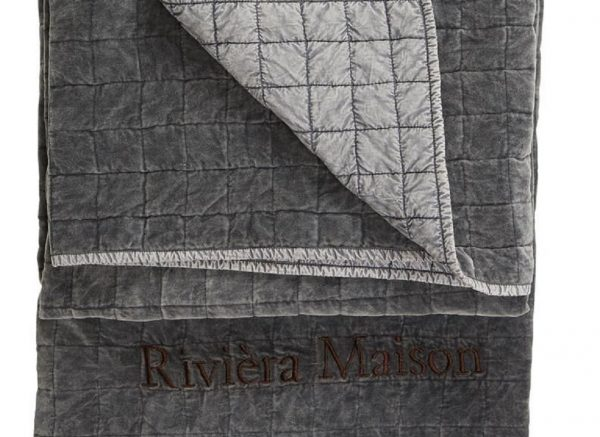 Riviera Maison sprei Marlow grey