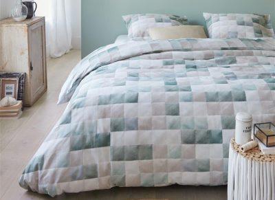 Ariadne at Home dekbedovertrek Colours blue green