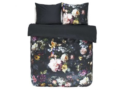 Essenza Home dekbedovertrek Fleur night blue