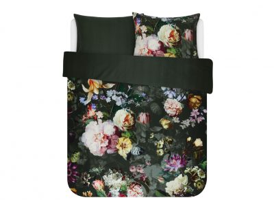 Essenza Home dekbedovertrek Fleur green
