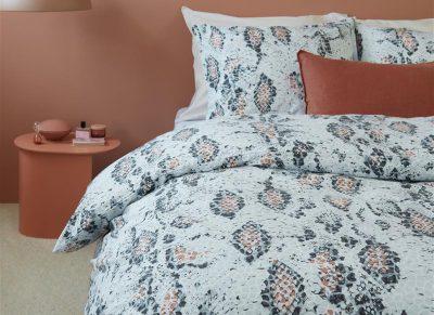Beddinghouse dekbedovertrek Boa pastel