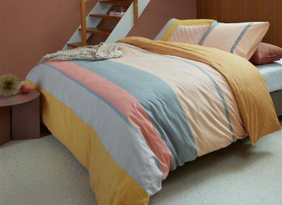 Beddinghouse dekbedovertrek Colorful Summer soft pink