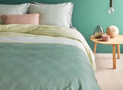 Beddinghouse dekbedovertrek Bardot green