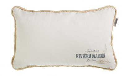 Riviera Maison sierkussen Nautical Mile blue