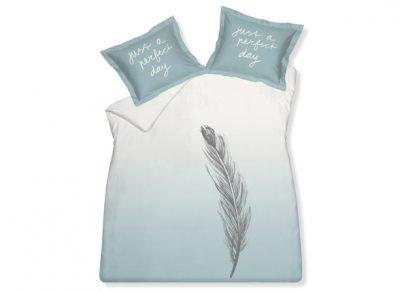 Vandyck dekbedovertrek Flying Feather celadon