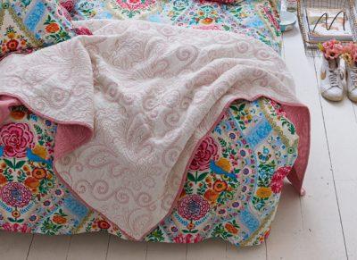 Pip sprei Feeling Quilty Quilt star white/bridal rose