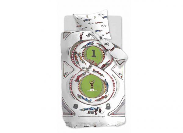 Beddinghouse dekbedovertrek Race Track multi