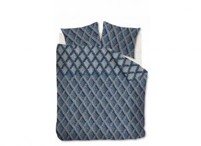 Beddinghouse dekbedovertrek flanel Ivar blue