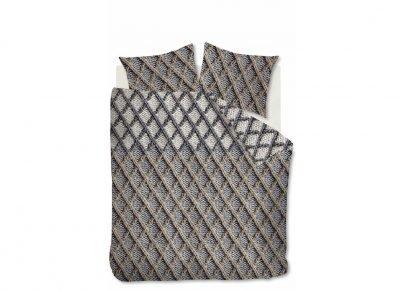 Beddinghouse dekbedovertrek flanel Ivar grey