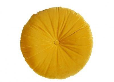 Kaat sierkussen Mandarin yellow