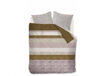Beddinghouse dekbedovertrek flanel Valdemar soft pink