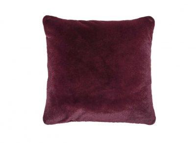 Essenza Home sierkussen Furry burgundy