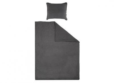 House in Style dekbedovertrek Remy off black