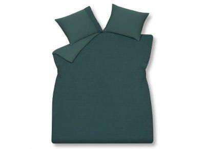 Vandyck dekbedovertrek Pure 07 dark green