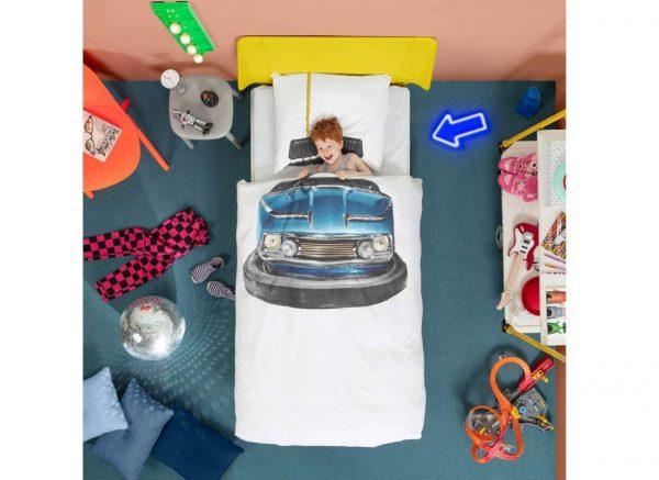 Snurk dekbedovertrek Bumper Car