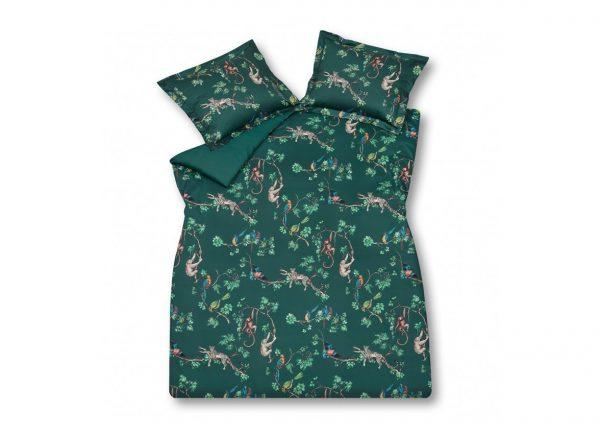 Vandyck dekbedovertrek Forest Love darkgreen