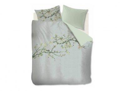 Beddinghouse x Van Gogh Museum dekbedovertrek Blossom grey