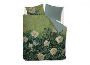 Beddinghouse x Van Gogh Museum dekbedovertrek Wild Roses Green