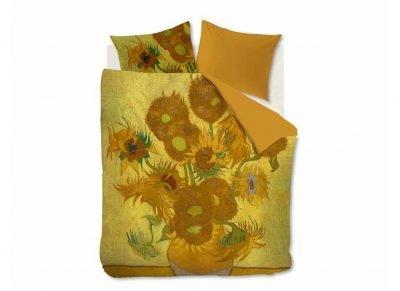 Beddinghouse x Van Gogh Museum dekbedovertrek Tournesol yellow