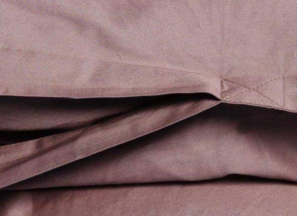 Yumeko dekbedovertrek satijn rose brown
