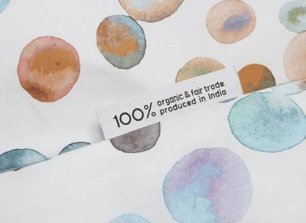Yumeko dekbedovertrek Watercolor Dots