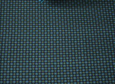 Pip Studio hoeslaken Cross Stitch dark blue