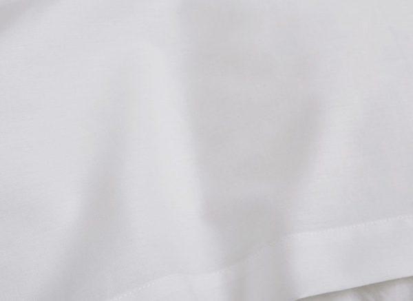 Yumeko dekbedovertrek katoen Tencel pure white