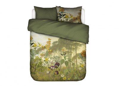 Essenza Home dekbedovertrek Felicia loden green