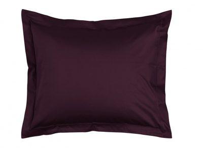 Essenza Home kussensloop katoen satijn, burgundy