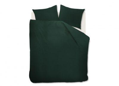 Beddinghouse dekbedovertrek Basic dark green