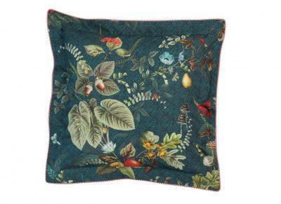 Pip Studio sierkussen Fall in Leaf dark blue 45x45