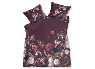 Vandyck dekbedovertrek Dazzling Flower cabernet