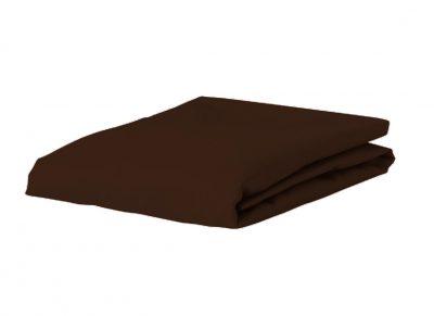 Essenza Home Premium Jersey hoeslaken, chocolate