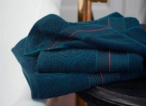 Pip Studio badgoed Soft Zellige dark blue