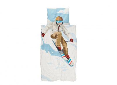 Snurk dekbedovertrek Ski Boy