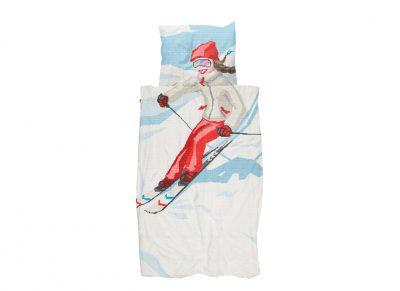 Snurk dekbedovertrek Ski Girl
