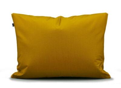 Essenza Home kussensloop perkal katoen, mustard