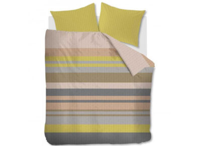 Beddinghouse dekbedovertrek Linee pastel