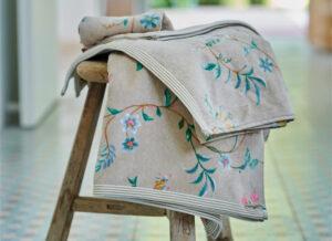 PIP Studio badgoed Les Fleurs khaki