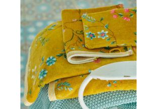PIP Studio badgoed Les Fleurs geel