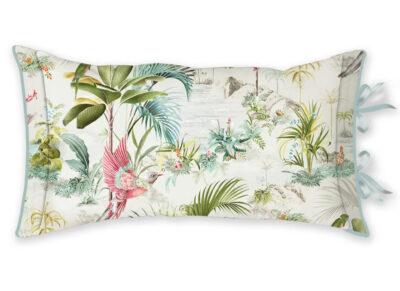 Pip Studio sierkussen Palm Scenes white 35×60
