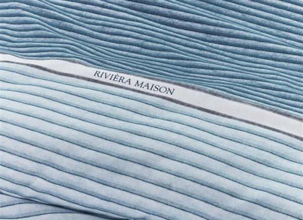 Riviera Maison dekbedovertrek Pleaty blue