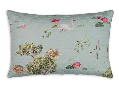 Pip Studio sierkussen Little Swan grey quilted 45×70