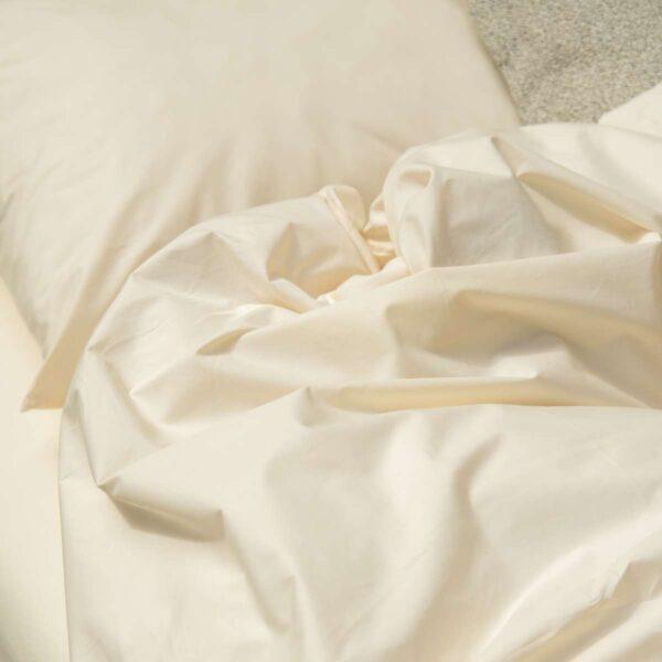 Snurk dekbedovertrek Uni beige