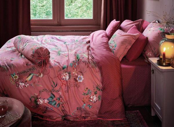 Pip Studio dekbedovertrek Chinese Porcelain pink