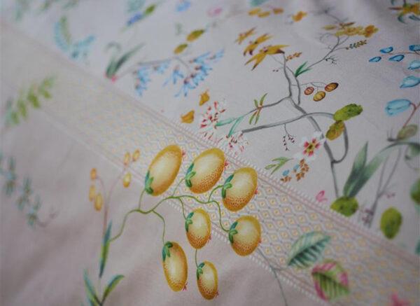 Pip Studio dekbedovertrek Petites Fleurs khaki