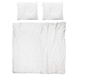 Snurk dekbedovertrek Uni white
